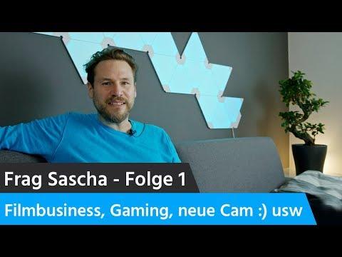 Frag Sascha: Folge 1 - Einstieg ins Filmbusiness, neue Kamera und was kommt als nächstes?