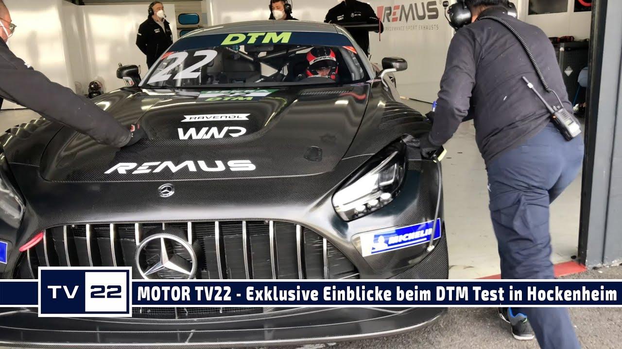 MOTOR TV22: Exklusive Einblicke von Lucas Auer und Philip Ellis beim DTM Test in Hockenheim