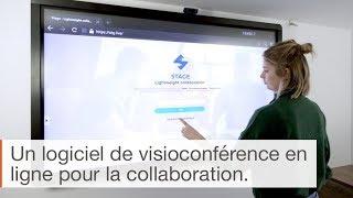 Stage : un logiciel collaboratif pour les écrans Clevertouch
