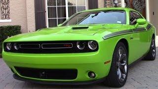 2015 Dodge Challenger RT Review (Start Up & Revs)