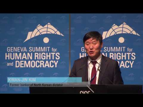 Kwan Jin Kim at Geneva Summit 2017