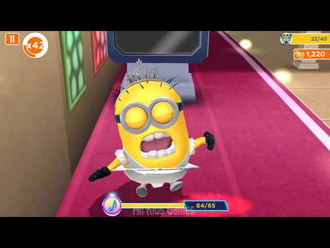 Minion Rush 🔥 Ballerina Minion 🔥 Funny Games For Kids - Game Play