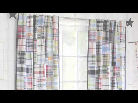 How To Install Curtains | Pottery Barn Kids