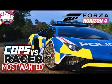 FORZA HORIZON 4 - COPS vs RACER Most Wanted² : Die Ruhe vor dem Sturm - Forza Horizon 4 MULTIPLAYER thumbnail