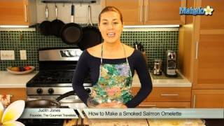 How To Make A Smoked Salmon Omelette