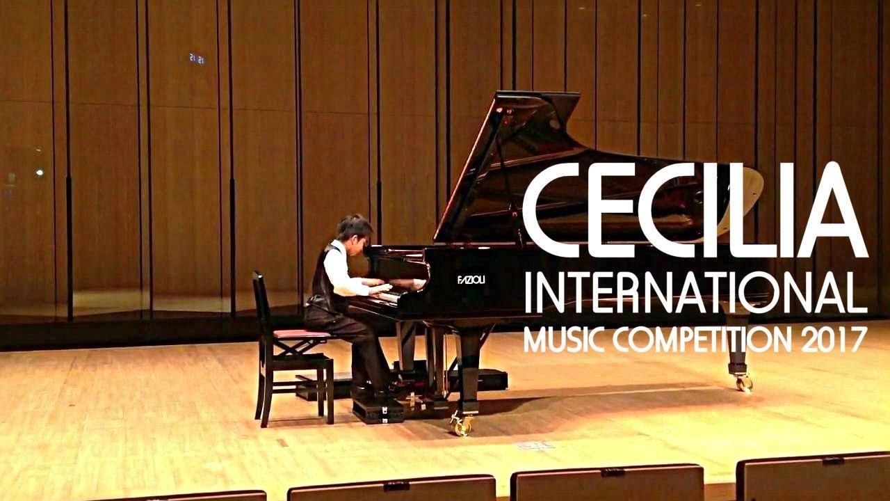 コンクール セシリア 国際 音楽