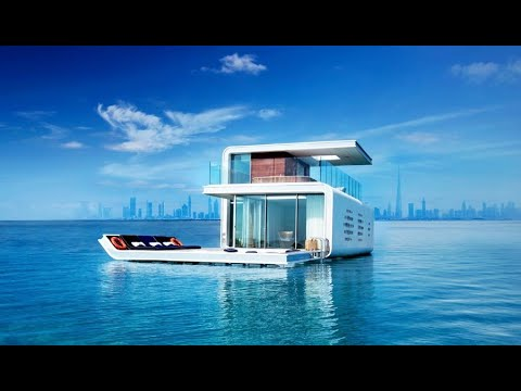 The World Islands Project – The Floating Seahorse Villa of Dubai