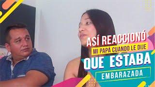 3 MESES DE EMBARAZO // MI PAPÁ REACCIONA - LA TREMENDA thumbnail
