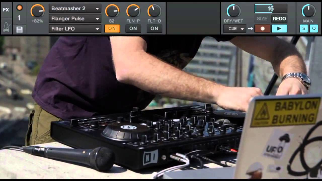 Dub FX gets creative with Traktor Kontrol S4
