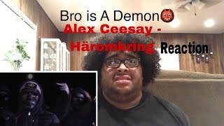 Reaction To Swedish Rap/Hip Hop - Alex Ceesay - Häromkring (Translated)