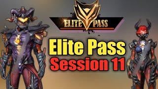 Freefire Elite Pass Session 11 || Upcoming Elite pass || Diamond Error || 😵 #PlayWithSkills