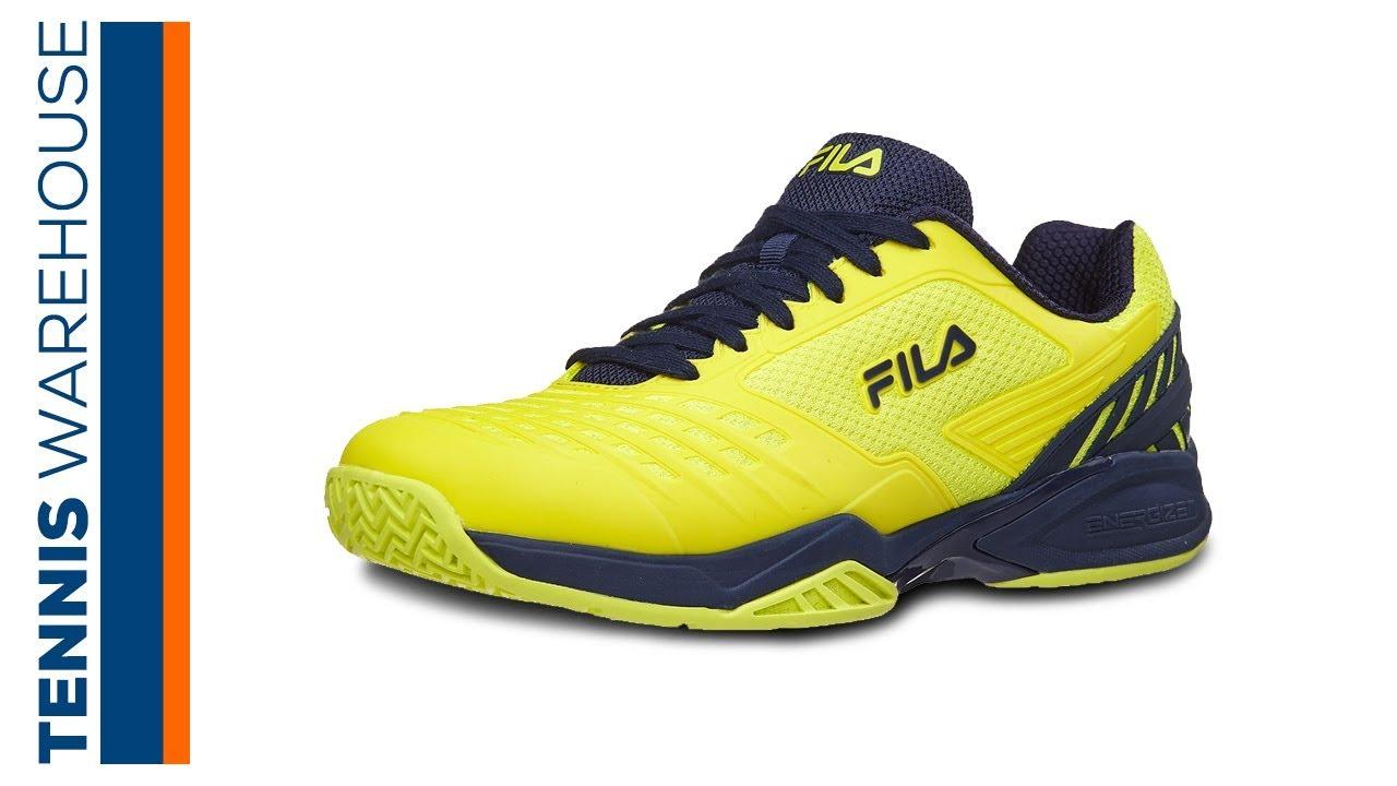 0e0e21626a2 Fila Axilus Energized Men s Tennis Shoe Review - YouTube