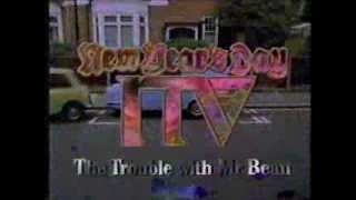 New Year on ITV 1992 Mr Bean trailer