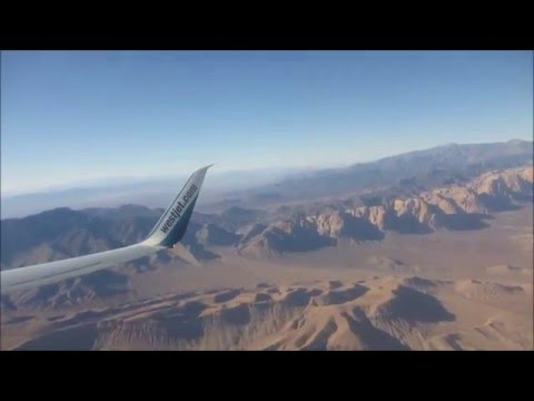 Las Vegas Taxi & Take Off - Westjet 737-800