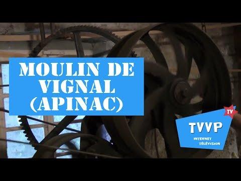 Visite du MOULIN DE VIGNAL à Apinac (42) - TVVP