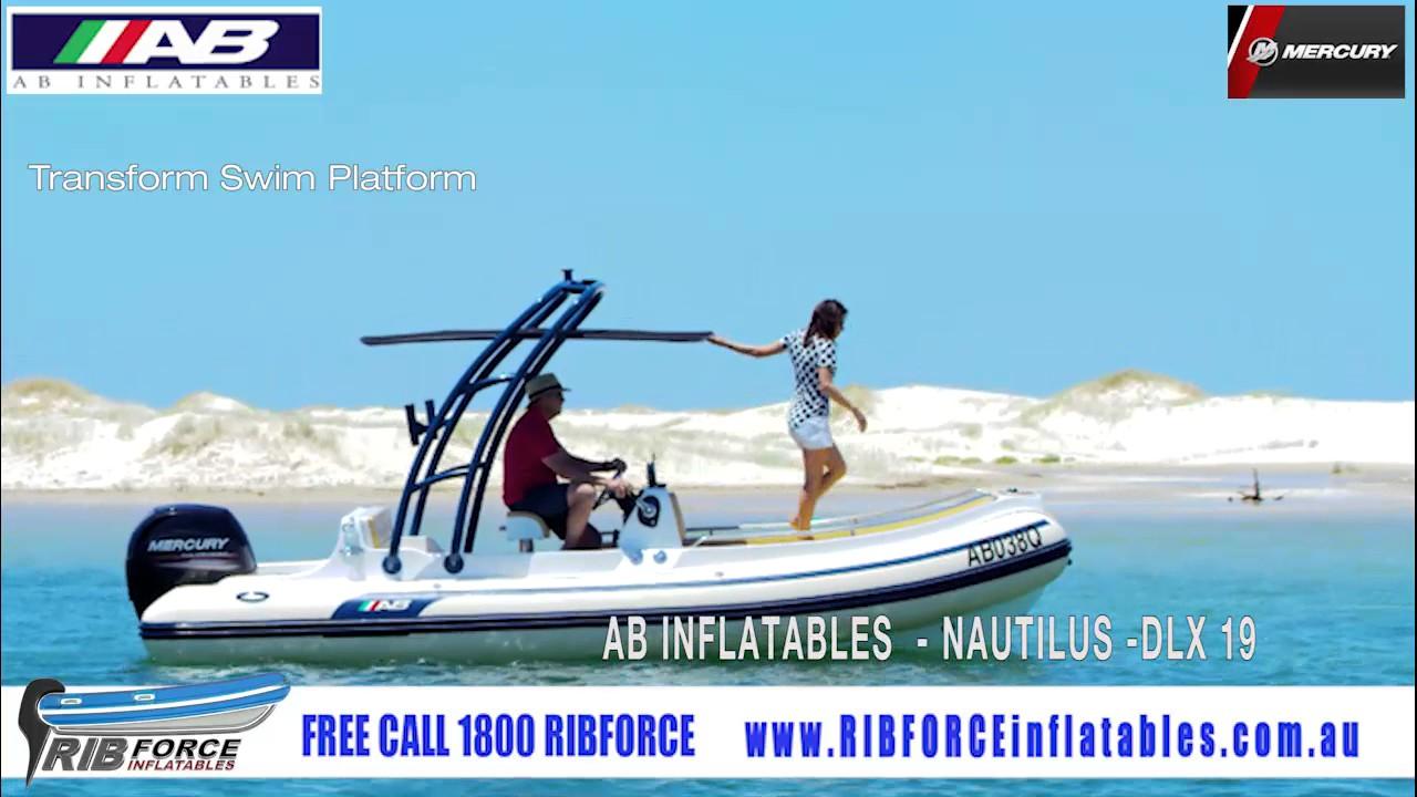 RIB FORCE INFLATABLES - AB INFLATABLES - Nautilis DLX 19