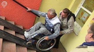 Где новосибирские инвалиды могут переломать руки и ноги?