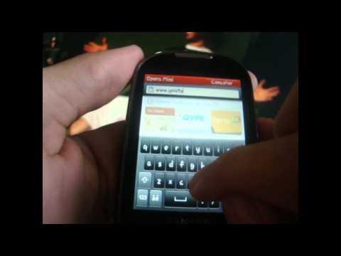 Samsung corby dj m3710 - como reproduzir youtube