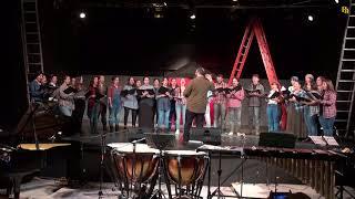 Песня Катюша в исполнении хора университета Пандио
