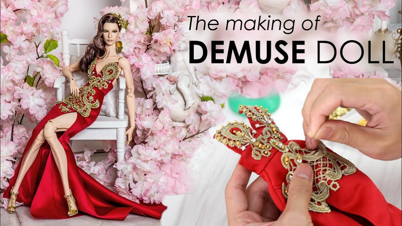The making of Izabella DeMuse Doll