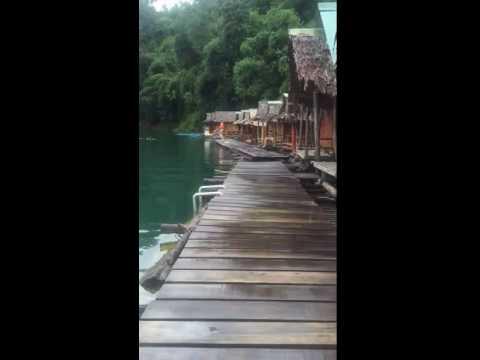 Bamboo Bungalow Khao Sok Thailand