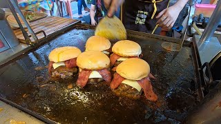 Burger Malaysia - Great Teppanyaki Skills in Johor