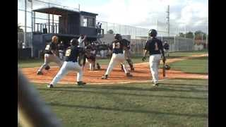 Sunset Vs  Coral Park Baseball - Bench Clearing Fight 2008