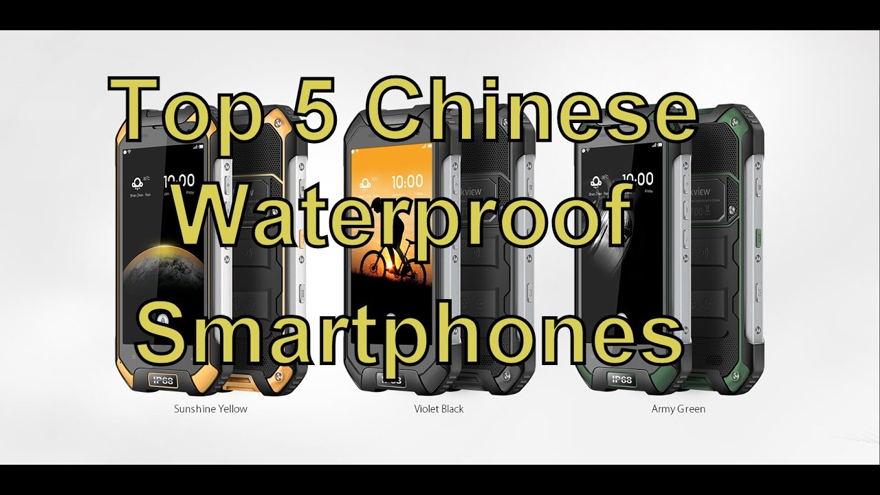 new products 08ee4 b4120 Top 5 Best Waterproof smartphones/cheapest/chinese/best buy/2016/2017