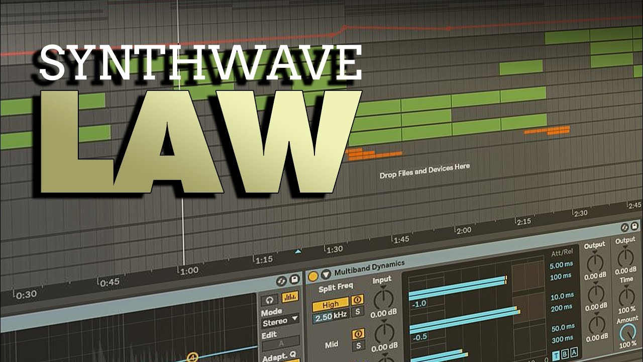 W A Production Synthwave Law [Ableton Template] - Freshstuff4you