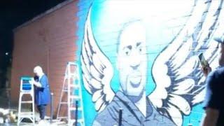 houston-artists-create-mural-honor-george-floyd