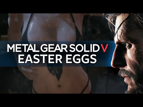 Best Easter Eggs Series - Metal Gear Solid V // Ep.90