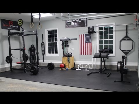 Mini gimnasio casero youtube for Gimnasio en casa