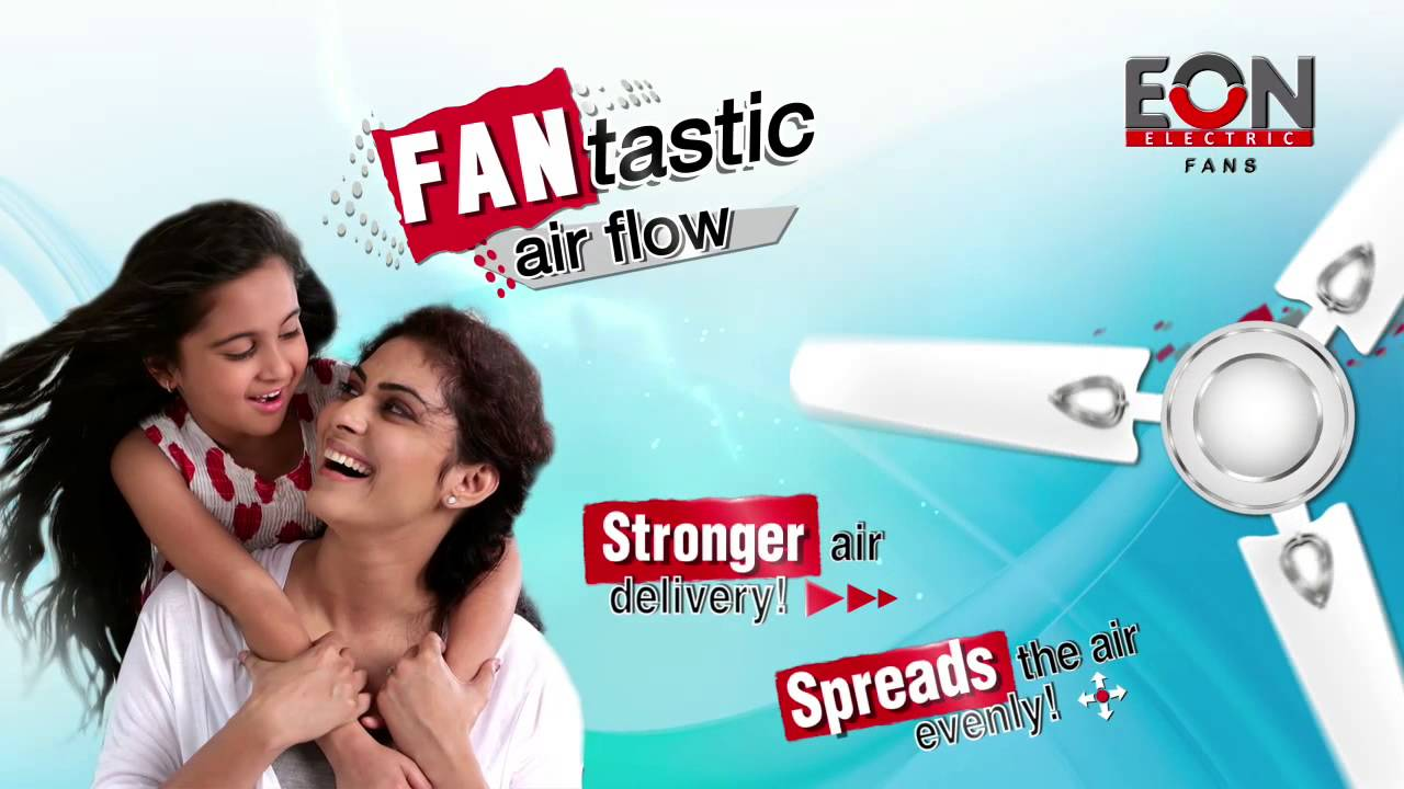Eon Electric Ltd Fan Products Advertisement Youtube