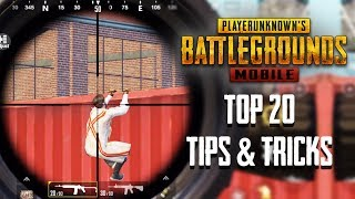 Top 20 Tips \u0026 Tricks in PUBG Mobile | Ultimate Guide To Become a Pro #11