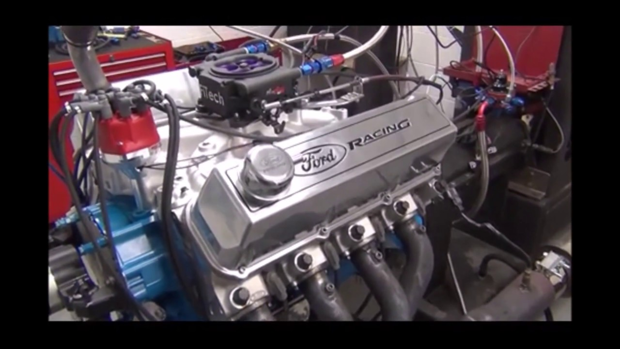 Big Block Ford 572 Pump Gas with EFI