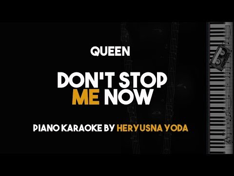 Don't Stop Me Now - Queen (Piano Karaoke with Lyrics)