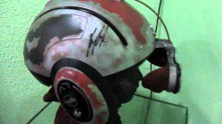 ANAKIN POD RACER HELMET SIGNED (DON POST REPLICA)