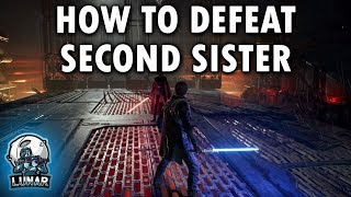 How To Defeat Second Sister Star Wars Jedi Fallen Order