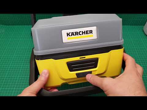 Karcher OC3 Mobile pressure washer show & tell + inside look
