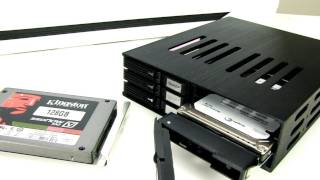 Futurelooks Checks Out the iStarUSA BPU-126SA 6 Hot Swap 2.5in HDD Cage for 5.25 Bays