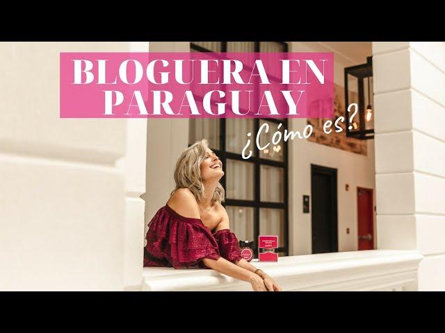 ¿Bloguera de moda en Paraguay? ¿Cómo es?