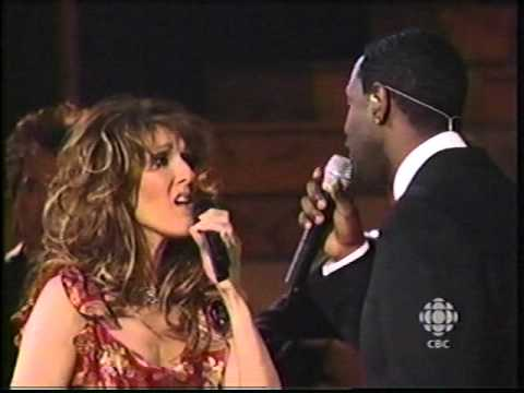Celine Dion & Brian McKnight  Beauty And The Beast CBS Special 2002