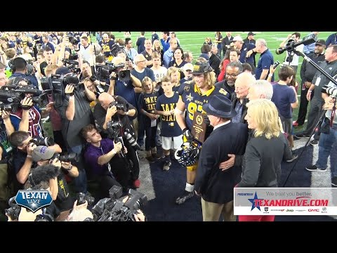 Highland Park vs Temple- Highlights -  2016 5A Foootball State Championship