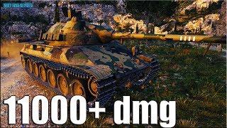 TVP T50/51 бой на Мастера 11k dmg World of Tanks