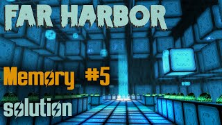 Fallout 4 - Far Harbor - VR Mission 5 Solution Memory 0Y - 8K7D