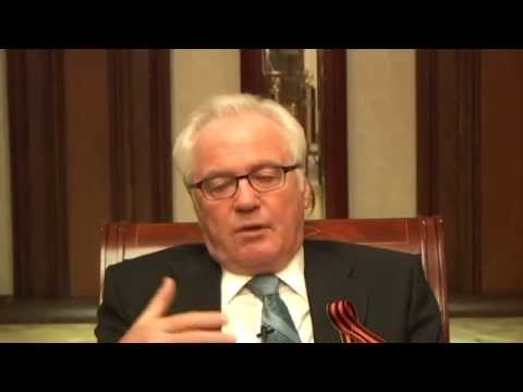Russia's UN Ambassador Churkin Interview by Larry Gell