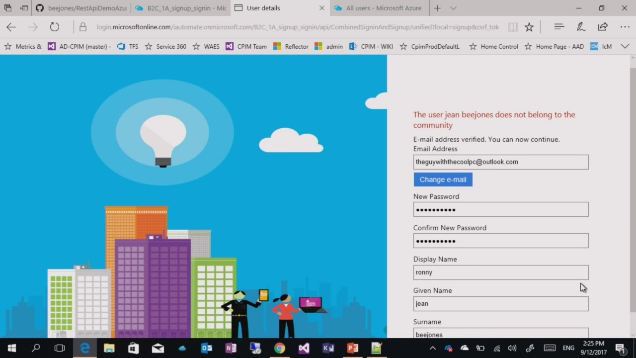 Azure AD B2C Custom Policies 2 Claims providers and techncial profiles