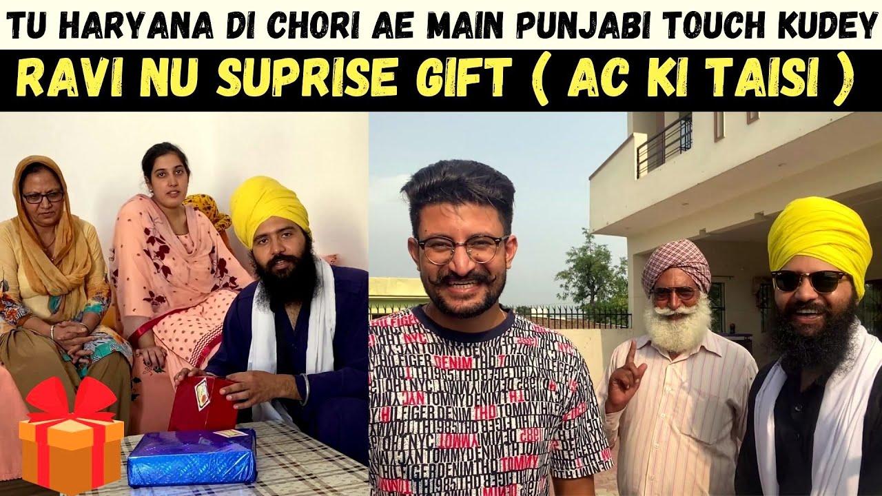 Haryana Ki Chori (MOM) & Punjab Da Gabru Jatt (DAD)   AC ki Taisi   Buying First AC in Mangat Family