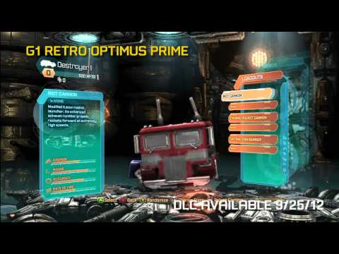 Transformers: Fall of Cybertron Dinobot Destructor Pack Trailer