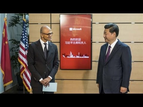 Microsoft's role in China's future growth